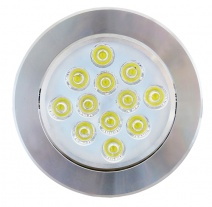 LED 12W downlight (Silver )
